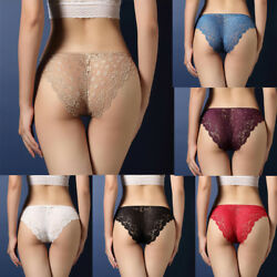 Women Sexy Lace Panties Knickers Lingerie Seamless Underwear G-string Briefs US $6.89