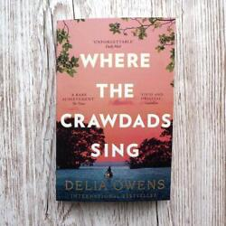 Where The Crawdads Sing by Delia Owens (2019 Paperback) Book