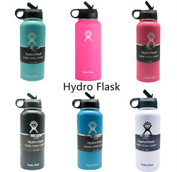 32OZ-Hydro Flask Straw Lid Water Bottle-Stainless Steel & Vacuum Insulated $31.59
