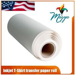 """Light Fabrics Ink jet Heat Transfer Paper Roll 24""""x50' Made In USA Free Delivery $64.97"""