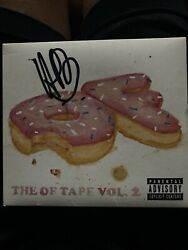 The OF Tape Vol. 2 By Odd Future Signed By Hodgy Beats 2012 Tyler The Creator $60.00