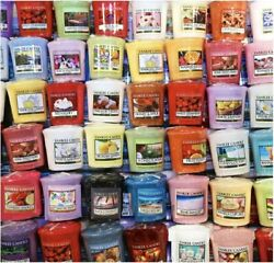 Set of 10 Scented Candles 1.75 Oz 15 Hours Votive Exotic Random Scents Assorted $39.95