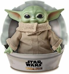 Star Wars Mandalorian The Child 11quot; Plush Baby Yoda Doll Mattel GWD85 IN STOCK $44.95