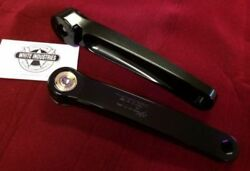 White Industries 180 mm ENO BLACK anodized CrankSet for Square Taper spindles $199.90