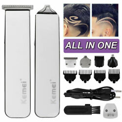 KEMEI PRO HAIR CUTTING KIT Professional Barber Machine Haircut Trimmer Clipper S $25.49