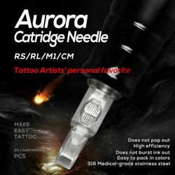20 Pack Aurora Sterilized Disposable Tattoo Cartridge Needles- Quality Guarantee $11.99
