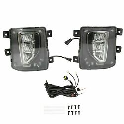 For 2016-2018 Chevy Silverado 1500 LED Fog Lights Driving Bumper Lamps wSwitch $88.00