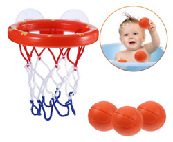 Bath Toys For Baby Kids Toddlers Girls Boys 1 2 Year Old Toddler Basketball Hoop $12.59