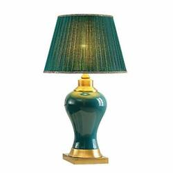 Decorative Table Lamp Chenmyi Green Desk Lamp Lab Reading Light Pleated Shade $372.34