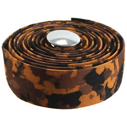 Soma Thick and Zesty Striated Bar Tape Brown Camo $20.11