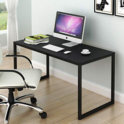 SHW Home Office 48 Inch Computer Desk Black $70.16