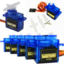 1020X SG90 9G Micro Servo Motor Gear for RC Robot Helicopter Car Boat Airplane $4.99
