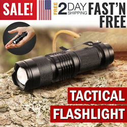 Tactical Police Flashlight LED Torch Light Military Outdoor Hiking Camping Lamp $6.99