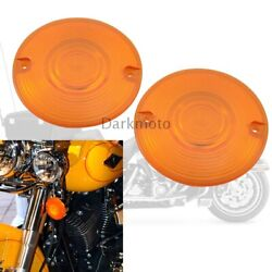 Turn Signal Light Bulbs Lens Plastic Waterproof Covers For Harley Tour Glides $5.68