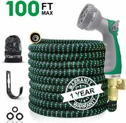 GardenWater HoseExpandable Double Latex Core34'' Solid BrassConnector $38.99
