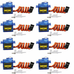 9G SG90 Micro Servo Motor 10pc For RC Robot Airplane Helicopter Aircraf Car Boat $14.99