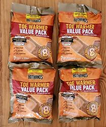 Lot of 4 Hothands Toe Warmers Value 7 Pack =28 Total Pair EXP 72023 Safe Heat  $22.00