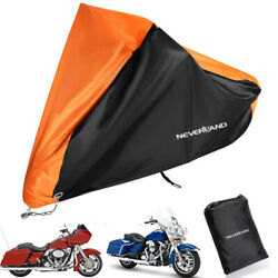 XXXL Waterproof Motorcycle Cover For Harley Davidson Road Street Glide Touring $24.99