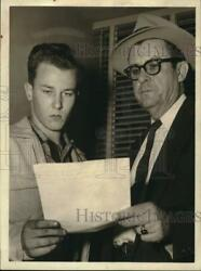 1957 Press Photo Stuart Lumpkin charged with murder in Houston - hcb44887 $15.88