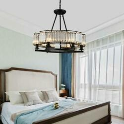 Modern Crystal 6 Light Chandeliers Home Lighting Ceiling Fixtures Pendant Lamps $134.99