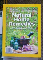 NATIONAL GEOGRAPHIC NATURAL HOME REMEDIES LIVE LONGER MAGAZINE 2019 $8.88