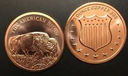 Bison 1 oz .999 Buffalo Copper Bullion Rounds Coins Going Fast ALMOST SOLD OUT $2.00