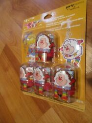 Rainbow Brite Party Favors 4pk Rolling Stampers Party Express NOS $9.99