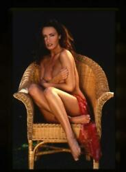 Kathy Lloyd Glamour Model Sexy Exotic Barefoot Photo Shoot 35mm Transparency $24.99