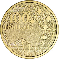 2020 Australia Gold 1 oz Beneath the Southern Skies $100 - BU in Mint Capsule $1,889.39