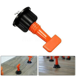02x Tile Leveling System Flat Ceramic Floor Wall Construction Tool Reusable   $31.76