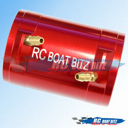 RC Boat Traxxas Spartan 36mm upgrade motor cooling jacket Red AU $30.16