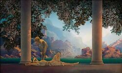1922 MAXFIELD PARRISH antique home decor Daybreak 20