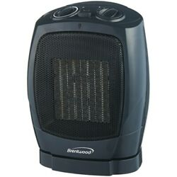 Brentwood Appliances H-C1600 Oscillating Ceramic Space Heater and Fan $51.59