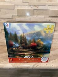 THOMAS KINKADE THE END OF A PERFECT DAY III 300 PC JIGSAW PUZZLE  $14.99