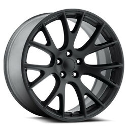 Replica 1 RP-05 20x9 5x115 +20mm Matte Black Wheel Rim 20
