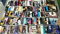 1980's Vinyl Records w Picture Sleeves 250 Choices 7