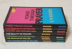 E.M. Bounds 7 Prayer Books Weapon Essentials Necessity Possibilities Reality $30.00
