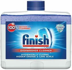 Finish Dual Action Dishwasher Cleaner: Fight GreaseLimescaleFresh 8.45 oz.  $7.99