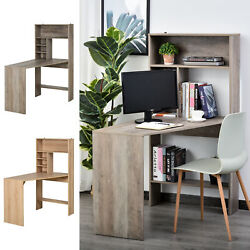 HOMCOM Modern Computer Desk Home Office Study Workstation $129.99