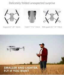 WIFI Drone Wide-Angle 1080P HD Camera high hold Foldable RC quadcopter aircraft $39.99