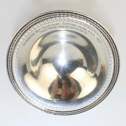 Antique Manhasset Bay Yacht Club Sterling Silver Trophy - 1924 SL $149.99