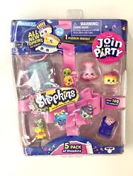 Brand New Shopkins Season 7 5 Pack join The Party $14.05