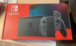 Nintendo Switch V2 32GB Console with Gray Joy‑Con In Hand Ships Immediately! $399.99