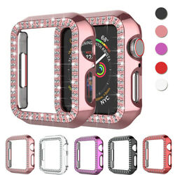 Apple Watch Series SE 6 5 4 3 2 Diamond Bling protector Case Cover 38 40 42 44mm $5.99