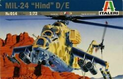 Italeri 1 72 MIL 24 HIND D E Helicopter #014 *sEALED* $24.98