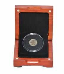 First Commemorative Mint Three Cent Nickel With Wood Box $17.99