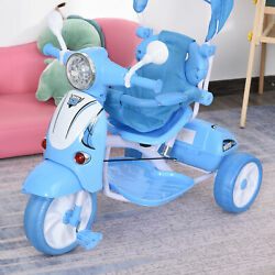 Kids Outdoor Toddler Tricycle 3 Foldable bike for 3 8 Years old Blue $64.99