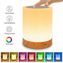 Table Lamp Touch Night Light - Portable Sensor Remote Control Bedside Lamps with $23.52