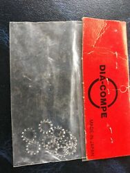 Vintage dia-comp Serrated Bicycle  Washer Silver made in japan $13.99