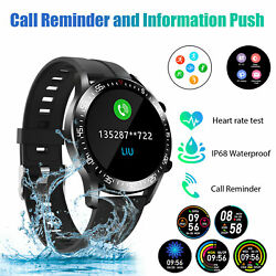 2021 Touch Smart Watch Women Men Heart Rate For iPhone Android IOS Waterproof $30.48